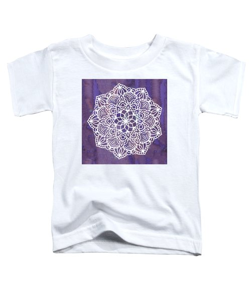 Ultraviolet Mandala Toddler T-Shirt