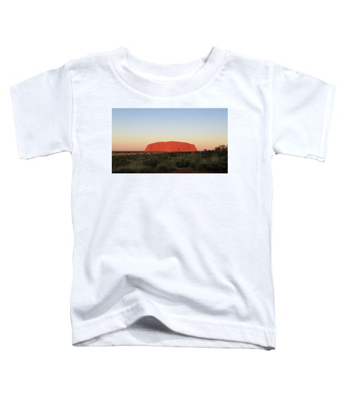 Uluru At Sunset Toddler T-Shirt