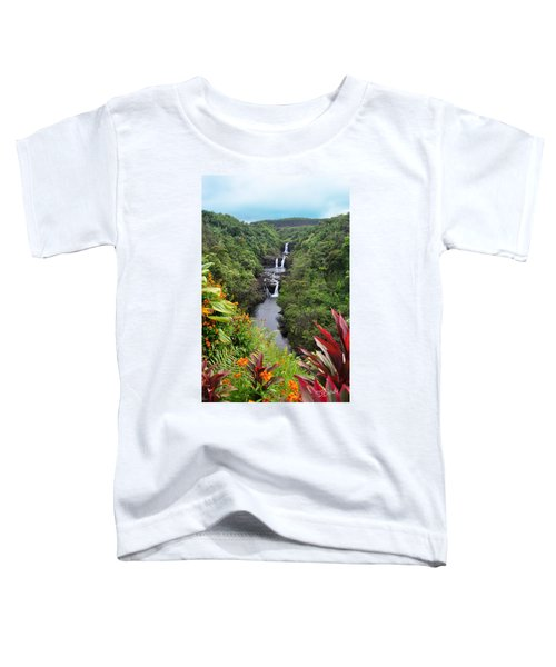 Umauma Falls Hawaii Toddler T-Shirt