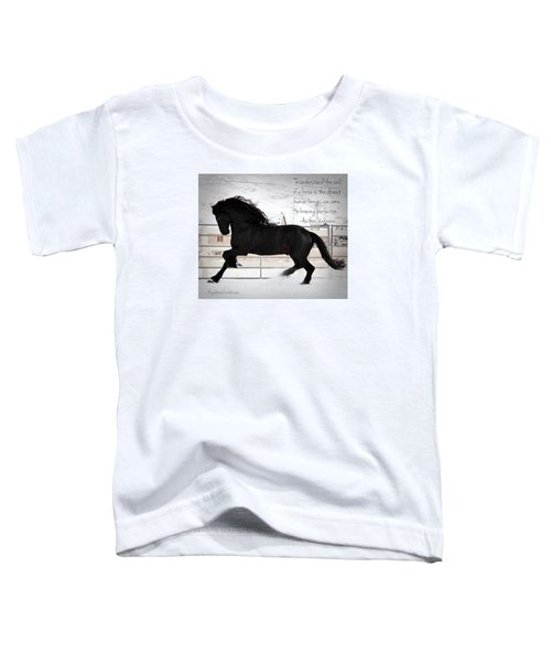 Understand The Soul Of A Horse Toddler T-Shirt