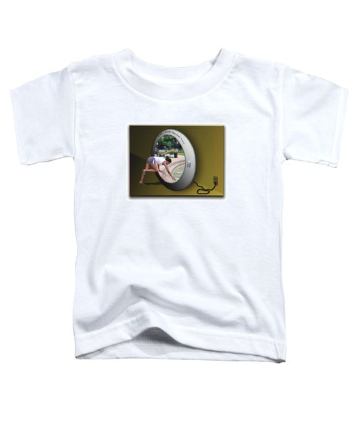 Universal Portal - Use Red-cyan 3d Glasses Toddler T-Shirt
