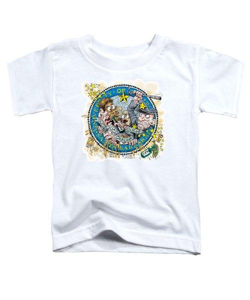 University Of California At Santa Barbara Seal Toddler T-Shirt
