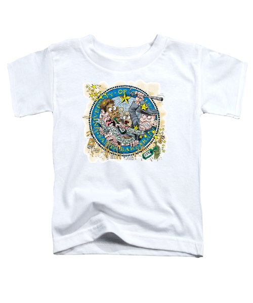 University Of California At Santa Barbara Seal Toddler T-Shirt