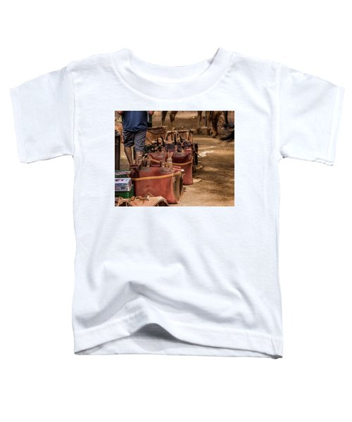 Unloading Mules At Phantom Ranch Toddler T-Shirt
