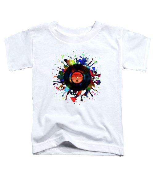 Unplugged Toddler T-Shirt by Mustafa Akgul