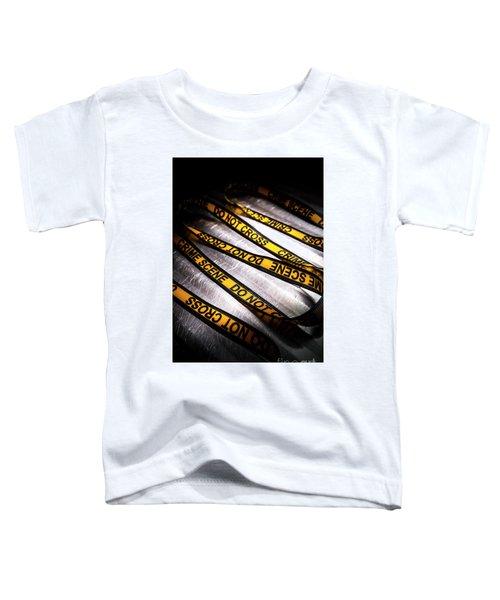 Unravelling Crime Investigation Toddler T-Shirt