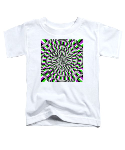 Self-moving Unspiral Toddler T-Shirt