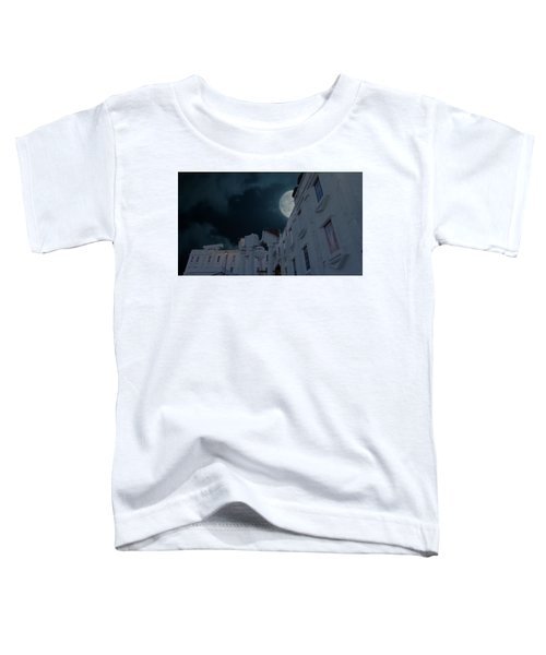 Upside Down White House At Night Toddler T-Shirt