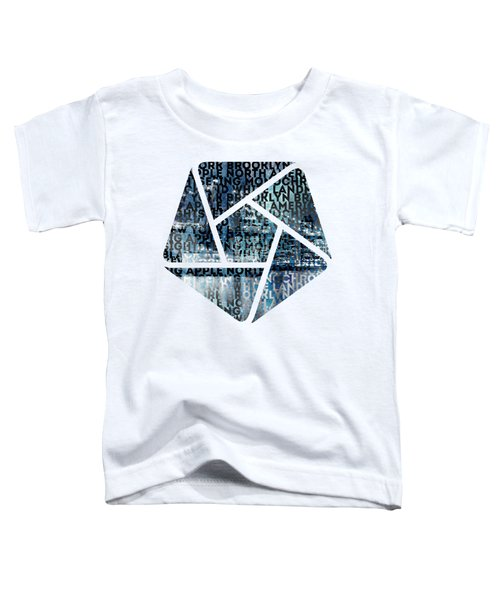 Urban-art Nyc Brooklyn Bridge I Toddler T-Shirt by Melanie Viola