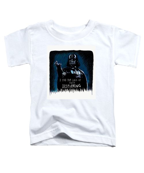 Toddler T-Shirt featuring the digital art Vader by Antonio Romero