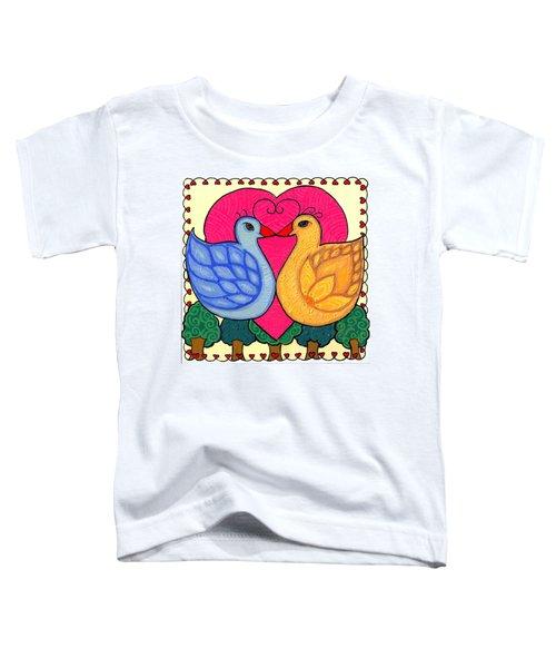 Valentine Birds Toddler T-Shirt