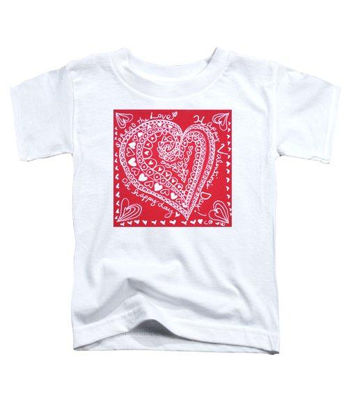 Valentine Heart Toddler T-Shirt