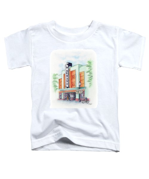 Varsity On Main Toddler T-Shirt
