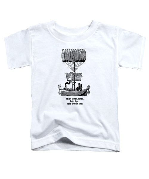 Vector Victor Vintage Airship Toddler T-Shirt