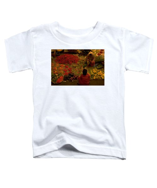 Vegetable Market In Malaysia Toddler T-Shirt