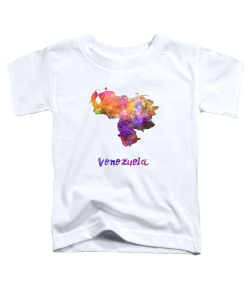 Venezuela In Watercolor Toddler T-Shirt