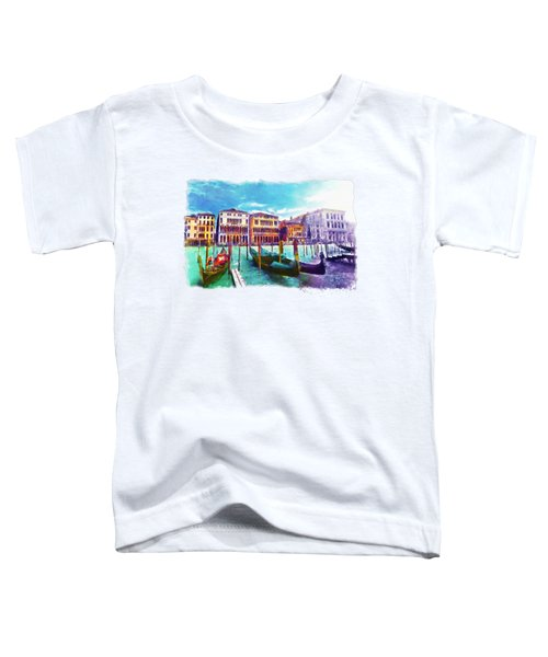 Venice Toddler T-Shirt by Marian Voicu