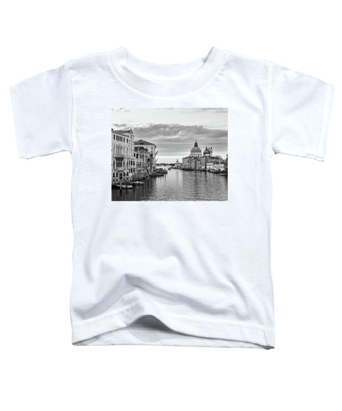 Toddler T-Shirt featuring the photograph Venice Morning by Richard Goodrich