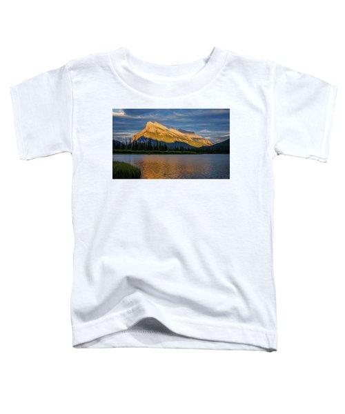 Vermillion Lakes And Mt Rundle Toddler T-Shirt