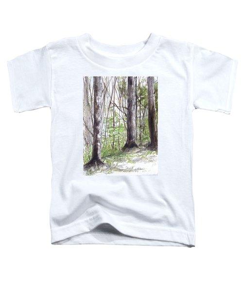 Vermont Woods Toddler T-Shirt