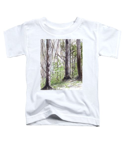Vermont Woods Toddler T-Shirt