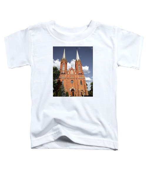 Very Old Church In Odrzywol, Poland Toddler T-Shirt