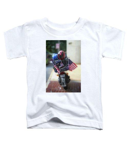 Veteran Biker Toddler T-Shirt
