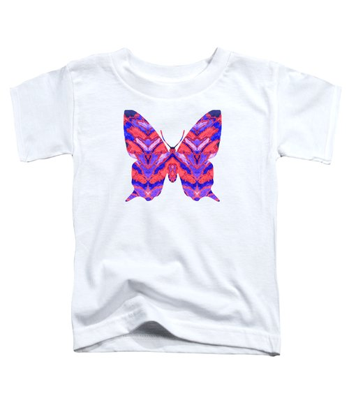 Vibrant Butterfly  Toddler T-Shirt