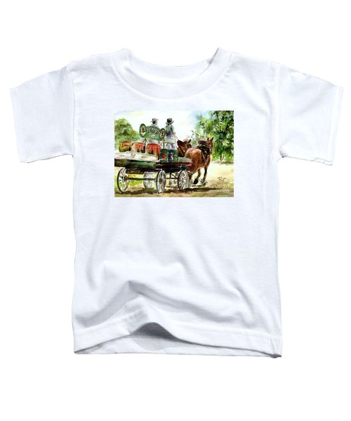 Victoria Bitter, Working Clydesdales. Toddler T-Shirt