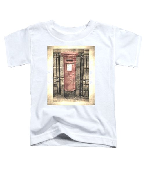 Victorian Red Post Box Toddler T-Shirt