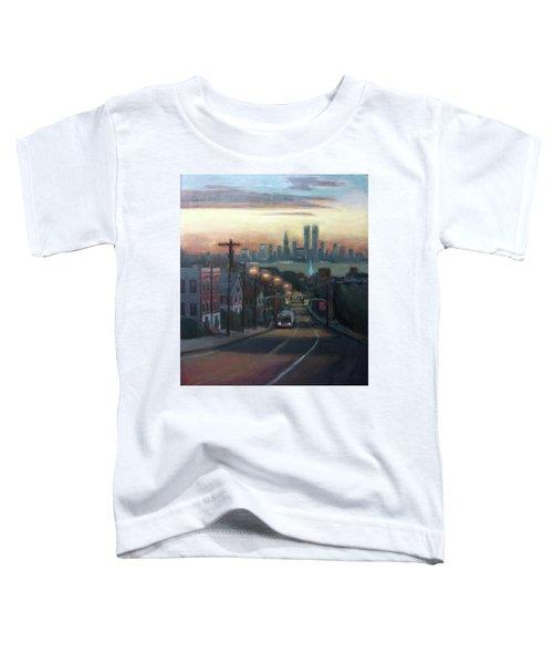 Victory Boulevard At Dawn Toddler T-Shirt