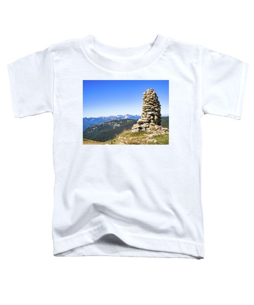 View Of The Apuan Alps Toddler T-Shirt