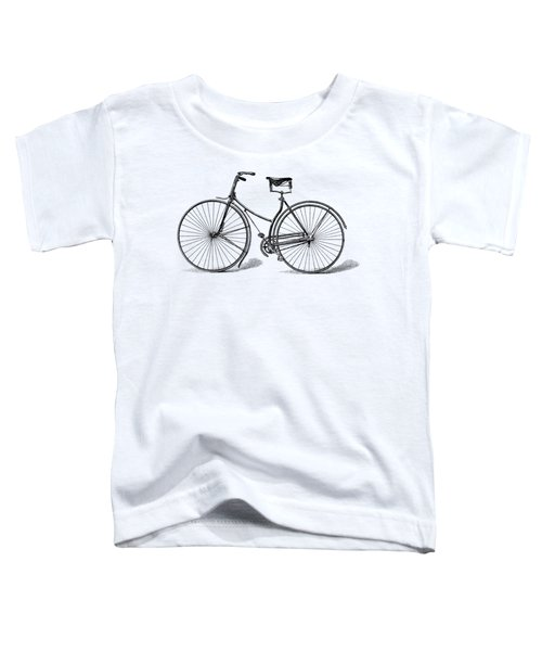 Toddler T-Shirt featuring the digital art Vintage Bike by ReInVintaged