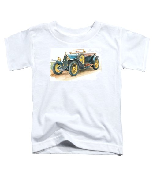 Vintage Blue Bugatti Classic Car Toddler T-Shirt