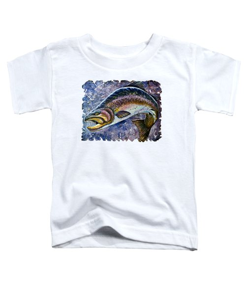 Vintage Blue Trout Fresco  Toddler T-Shirt