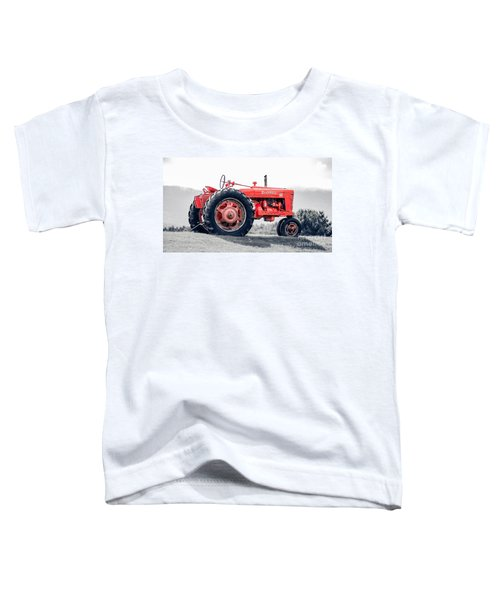 Vintage Mccormick Farmall Tractor Toddler T-Shirt