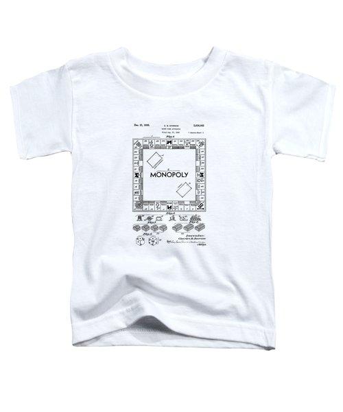 Vintage Monopoly Patent 1935 Toddler T-Shirt