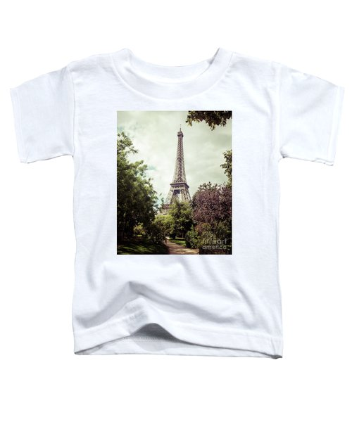 Vintage Paris Toddler T-Shirt