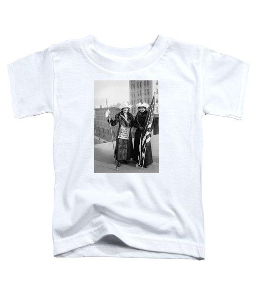 Vintage Photo Suffragettes Toddler T-Shirt