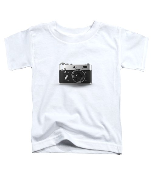 Vintage Rangefinder Camera Tee Toddler T-Shirt