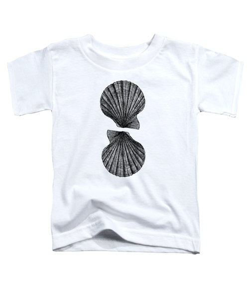 Vintage Scallop Shells Toddler T-Shirt
