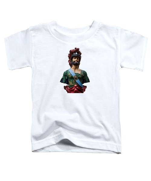 Vintage Ships Bust Toddler T-Shirt by Martin Newman