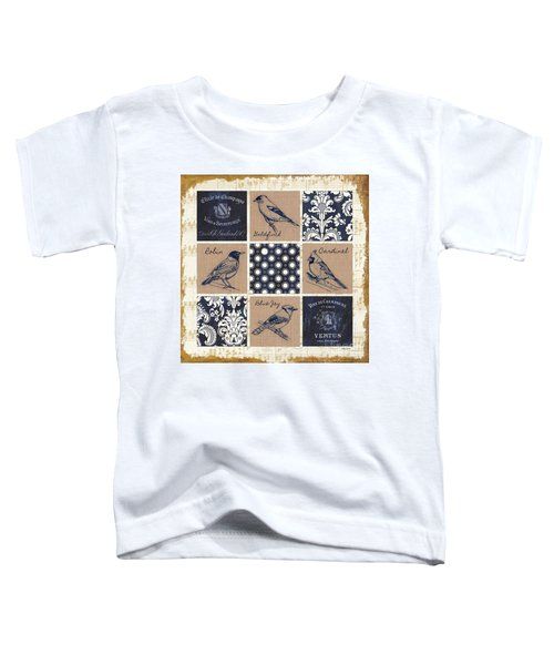 Vintage Songbirds Patch Toddler T-Shirt