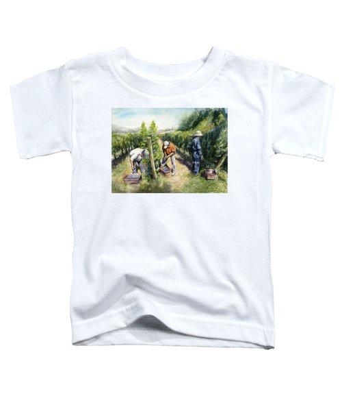Vineyard Watercolor Toddler T-Shirt