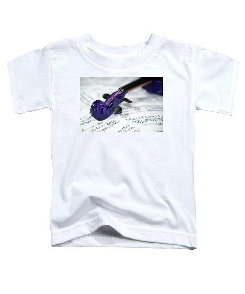 Violin Tuning Pegs  Toddler T-Shirt