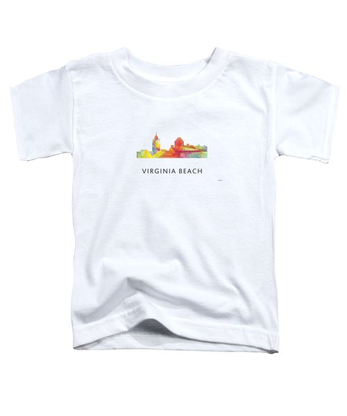 Virginia Beach  Virginia Skyline Toddler T-Shirt