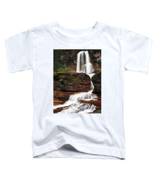 Virginia Falls Glacier National Park Toddler T-Shirt