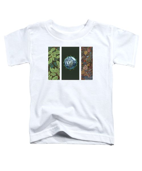 Viriditas Triptych Toddler T-Shirt