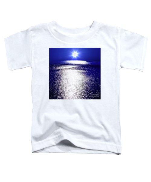 Virtual Sea Toddler T-Shirt by Tatsuya Atarashi
