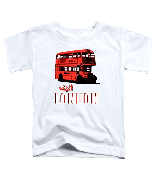 Visit London Tee Toddler T-Shirt by Edward Fielding